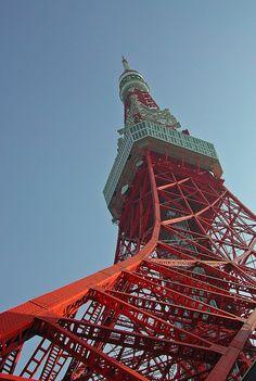 Tokyo Tower by leitzlover, via Flickr