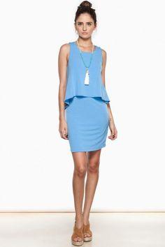 Lana Dress in Blue