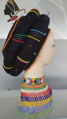 South African Traditional Dresses, Xhosa Attire, African Hair Wrap, Ladies Day Dresses, Beaded Shoes, African Accessories, African Design, African Hairstyles, African Fashion Dresses