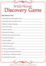 This site has all sorts of wedding goodies, including this free printable bridal shower game