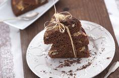 Ideal para saborear e oferecer...Bolo de chocolate e requeijão