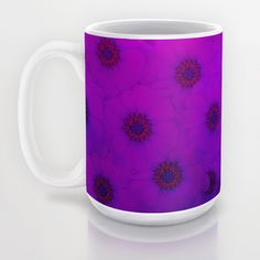 15 OZ #Purple #Daisy #Mug