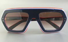Emilio Pucci vintage sun glasses made in 1968 for the Olympic winter games of Grenoble.