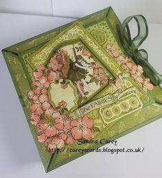 #Graphic45 Once upon a Springtime Cake box 4