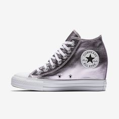 b8570275eb60 Converse Chuck Taylor All Star Lux Metallic Mid Top Women s Shoe Nike  Lifestyle Shoes