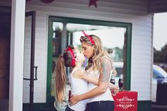 Vintage inspired Retro Pinup Shoot Mother Daughter Rockabilly Mother Daughter Photos, Mom Daughter, Family Portraits, Family Photos, Mommy And Me Photo Shoot, Rockabilly Baby, Mini Photo, Boudoir Photos, Photo Sessions