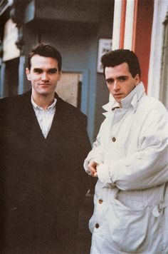 Morrissey and Johnny Marr Good Music, My Music, How Soon Is Now, The Smiths Morrissey, Johnny Marr, Little Charmers, Charming Man, The New Wave, Joy Division