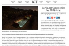 Interview Artist Ali Beletic on WTF Ali, Interview, Earth, Artist, Artists, Ant, Mother Goddess, World, The World