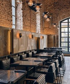 Kilimanjaro Restaurant and bar, Istanbul. Luxury interior design from studio Autoban, restoring Bomonti Historic Brewery to create an iconic luxury bar design Cafe Industrial, Rustic Industrial Decor, Industrial Interior Design, Industrial Interiors, Industrial Lighting, Interior Modern, Vintage Industrial, Industrial Style, Industrial Bedroom