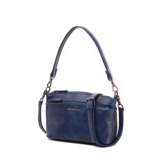 b3f3143f03 AMELIE GALANTI Fashion PU Leather Handbag for Women 2018 Messenger Bags  Multi Pockets Crossbody Shoulder Bag