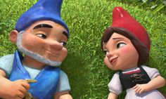 Gnomeo and Juliet! Cute movie!
