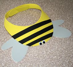 Here's a great craft project for the youngest Yellow Jackets. You can even wear it on game day!