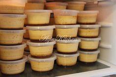 Puding Karamel Yang Sangat Sedap Jelly Desserts, Pudding Desserts, Asian Desserts, Sweet Desserts, Dessert Boxes, Dessert Cups, Dessert Drinks, Dessert Recipes, Puding Oreo