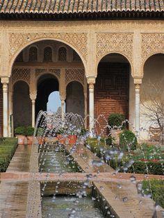 The Alhambra, Granada, Andalusia, Spain Alhambra Spain, Andalusia Spain, Granada Spain, Places Around The World, Travel Around The World, Around The Worlds, Le Riad, Fantasy Places, Le Palais