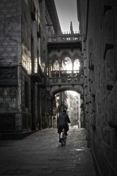 Gothic Quarter, Barcelona | Spain (by sluffick)
