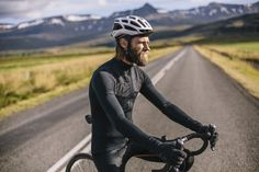 Isadore Winter longe sleeve cycling jersey