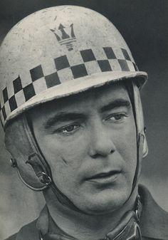 Jean Behra's helmet is the inspiration for Autoweeks logo