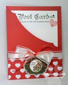 Love the peek-a-boo card.  How cute for an invitation!!