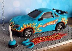 Hot wheels cake …