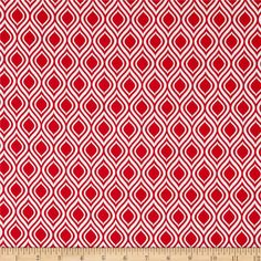 Metro Living Flame Stripe Red from @fabricdotcom  Designed by Studio RK for Robert Kaufman, this cotton print is perfect for quilting, apparel and home decor accents.  Colors include white and red.