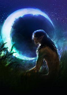 werewolf by *anndr on deviantART