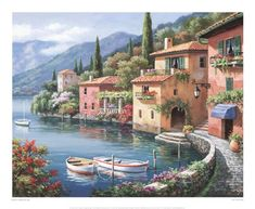 Villagio Dal Lago by Sung Kim posters & art prints at PictureStore