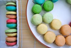 Macaron Rainbow from baking.love