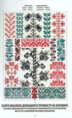 Palestinian Embroidery, Hungarian Embroidery, Folk Embroidery, Cross Stitch Embroidery, Embroidery Patterns, Cross Stitch Borders, Cross Stitch Charts, Cross Stitch Patterns, Stitch Crochet