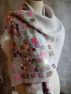 3645 Scarf by Sophie Digard  Sold Out already from The French Needle