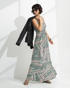 Maxi-ing out, relaxing all cool. See 4 ways to effortlessly dress up your maxi.