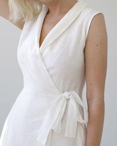 d4a2dd48d87 91 Best White linen dresses images in 2019