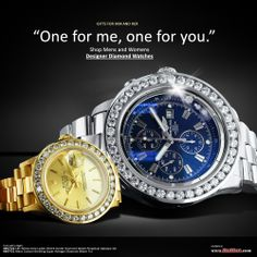 Genuine Diamond Watches, including Breitling and Rolex at www.ItsHot.com