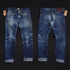 the Unbranded Brand - 1 year, 4 washes Nudie Jeans, Denim Jeans Men, Denim Shirts, Edwin Jeans, Denim Fashion, Curvy Fashion, Street Fashion, Fall Fashion, Fashion Trends