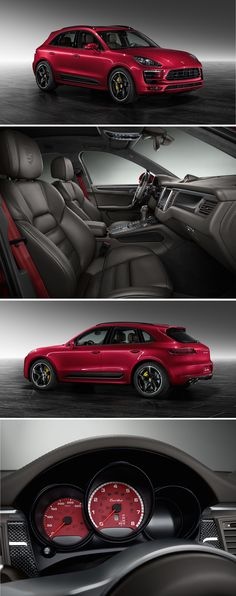 An intense life doesn't know a boring colour. Just like this Macan Turbo in Impulse Red Metallic by Porsche Exclusive. Check out all details in this gallery. *Combined fuel consumption in accordance with EU 6: 9.2 - 8.9 l/100 km; CO2 emissions: 216 - 208 g/km