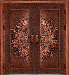 House Main Door Design, Flush Door Design, Wooden Front Door Design, Main Entrance Door Design, Double Door Design, Door Gate Design, Room Door Design, Entrance Doors, Front Doors