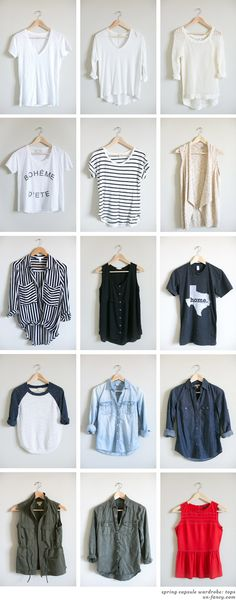 Welcome inside my closet! All the outfits I post here on Unfancy are made up of these pieces. Cool, huh? My goal is to show you how much you can do with a small wardrobe.This post will be a quick-...