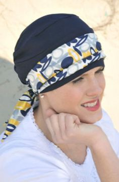 Mini Scarf - Headwear Accessories for Hats and Turbans