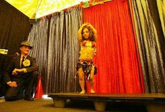 Rima midget belly dancer