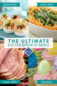 Make an Easter feast with food from Sam's Club. Save time on Easter Sunday with pre-baked hams, green beans, rolls, cookies and more. Whether it's what to make for an Easter appetizer to dessert, find everything you need to make your meal a sweet success. Shop the best groceries from Sam's Club and save time and money this Easter holiday.
