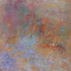 Rautio: Path in the garden, December - Puutarhakäytävä joulukuussa, 80x80 cm, 2017.