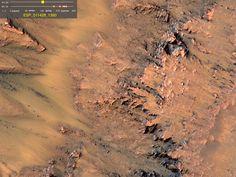 De l'eau liquide sous la surface de Mars ? Avec beaucoup de sel ! - L'Obs