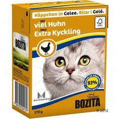 Animalerie  Bozita Bouchées en gelée 6 x 370 g pour chat  foie de poulet