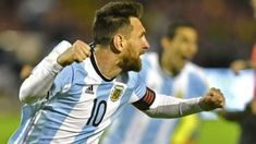 Argentina, Uruguay and Colombia booked their place at next year's World Cup finals on Tuesday in a thrilling final round of qualifiers that saw South American champions Chile eliminated.Argentina advanced after a Lionel Messi hat-trick secured a Messi Argentina, Ecuador, Argentina World Cup, Leo, World Cup Qualifiers, World Cup Final, Football Match, 2017 Photos, Fifa