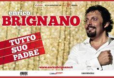"""Con """"Tutto suo padre"""" Enrico Brignano ritorna a teatro con un omaggio alla sua famiglia"""