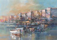 Branko Dimitrijevic, Rovinj, Oil on canvas, 70x50cm
