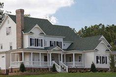 Plan 15754GE: Luxurious Farmhouse Plan