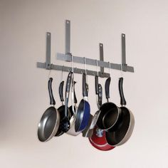 One of my favorite discoveries at WorldMarket.com: Enclume Ceiling Bar Pot Rack