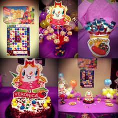 Candy Crush Birthday Party