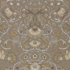 The Original Morris & Co - Arts and crafts, fabrics and wallpaper designs by William Morris & Company | Products | British/UK Fabrics and Wallpapers | Pure Lodden (DMPU216028) | Pure Wallpapers