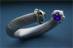 The original Cable bracelet - handmade by David Yurman in 1983.